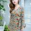 JS0022 เสื้อผ้าแฟชั่น เสื้อผ้าเกาหลี เสื้อผ้าแฟชั่นเกาหลี ชุดจั๊มสูท จั๊มสูทขาสั้น จั๊มสูทกางเกง ชุดออกงาน ชุดทำงาน thumbnail 3