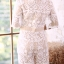 JS0028 จั๊มสูทเกาหลี จั๊มสูทแฟชั่น จั๊มสูทลูกไม้ เสื้อลูกไม้ ชุดไปเที่ยว ชุดออกงาน ชุดลูกไม้ ชุดไปงานแต่ง (สีขาว) thumbnail 6