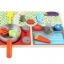ของเล่นไม้เสริมพัฒนาการ ถาดไม้จำลองเครื่องครัวเเละอาหาร thumbnail 2
