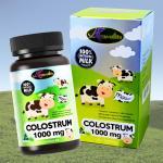 Auswelllife Colostrum 1000mg. นมสูงชนิดเม็ด 1 กระปุก