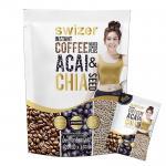 Swizer Instant Coffee Mixed ACAI & CHAI SEED กาแฟปรุงสำเร็จรูปชนิดผง ผสม อาซาอิ และเมล็ดเจีย 1 ห่อ ส่งฟรี