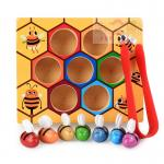 เกมส์คีบผึ้ง เสริมพัฒนาการหยิบจับคีบเเละสายตา 1 ชุด