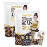 Swizer Instant Coffee Mixed ACAI & CHAI SEED กาแฟปรุงสำเร็จรูปชนิดผง ผสม อาซาอิ และเมล็ดเจีย 2 ห่อ ส่งฟรี