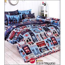 ชุดเครื่องนอน-ชุดผ้าปูที่นอน ลาย LONDON รหัสTT519