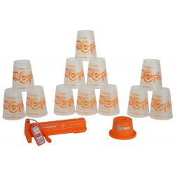 แก้ว Speed Stack Pro Series 2 Transparent-Orange