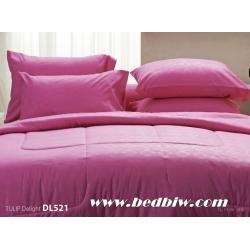 ชุดเครื่องนอน ผ้าปูที่นอน ทิวลิป-ดีไลท์ Tulip Delight สีพื้น พิมพ์ลาย รหัส DL521