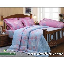 ชุดเครื่องนอน ชุดผ้าปูที่นอน เจสสิก้า JESSICA ลายดอกไม้ รุ่น J183