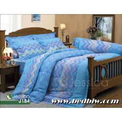 ชุดเครื่องนอน ชุดผ้าปูที่นอน เจสสิก้า JESSICA ลายกราฟฟิก รุ่น J184