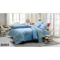 ชุดเครื่องนอน ผ้าปูที่นอน ทิวลิป-พิมพ์ลาย รหัส SL015