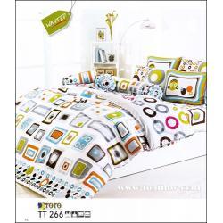 ชุดเครื่องนอน ผ้าปูที่นอน ลายเทรนดี่้ น่ารัก TT266