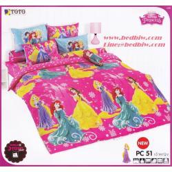 ชุดเครื่องนอน-ผ้าปูที่นอน ลายเจ้าหญิง PC51