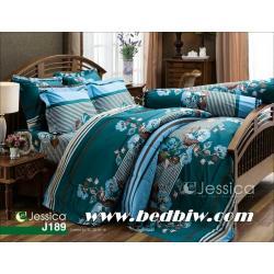 ชุดเครื่องนอน JESSICA ผ้าปูที่นอน JESSICA ลายดอกไม้ J189