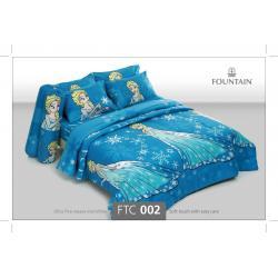 ชุดเครื่องนอน ผ้าปูที่นอน ราคาถูก ลายเจ้าหญิงFTC002