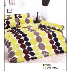 ชุดผ้าปูที่นอน toto ครบชุด+นวม TT296