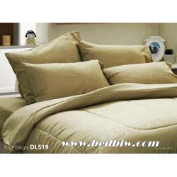 ชุดเครื่องนอน ผ้าปูที่นอน ทิวลิป-ดีไลท์ Tulip Delight สีพื้น พิมพ์ลาย รหัส DL519