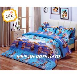 ชุดเครื่องนอน ผ้าปูที่นอน ลาย วันพีช รุ่นOP2