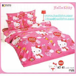 ชุดเครื่องนอน ผ้าปูที่นอน ลายคิตตี้ เฮลโลคิตตี้ KT41