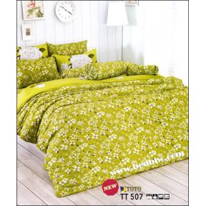 ชุดเครื่องนอน ผ้าปูที่นนลายดอกไม้ TT507