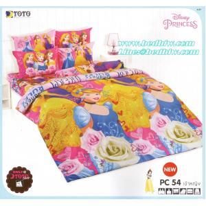 ชุดเครื่องนอน ผ้าปูที่นอน ลิขสิทธิ์toto ลายเจ้าหญิง PC54