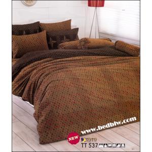 ชุดเครื่องนอน ผ้าปูที่นอน ลายจุด ลายคลาสิค TT537