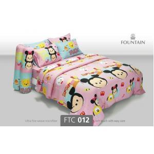 ชุดเครื่องนอน ผ้าปูที่นอนราคาถูก ลาย ซูมซูม FTC012
