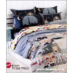 ชุดเครื่องนอนtoto บ้านการ์ตูนในฝัน ลายเทรนดี้ TT524