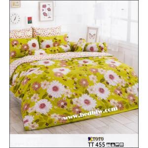 ผ้าปูที่นอนtoto ลายเทรนดี้น่ารัก ราคาถูก TT455