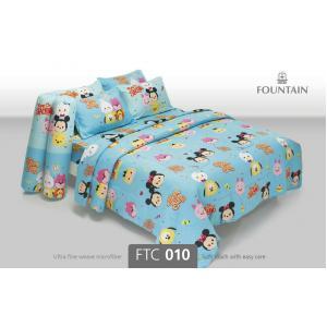 ชุดเครื่องนอน ผ้าปูที่นอน ราคาถูก ลายการ์ตูน ซูม ซูม FTC010