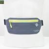 กระเป๋าคาดเอววิ่งกันน้ำ แบบบาง สีเทา ใส่มือถือได้ทุกรุ่น