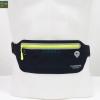 กระเป๋าคาดเอววิ่งกันน้ำ แบบบาง สีดำ ใส่มือถือได้ทุกรุ่น