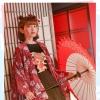 Pre-Order เสื้อคลุมแขนกว้าง พิมพ์ลายสไตล์ญี่ปุ่น มี2สี