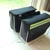 กระเป๋าคู่คาดเฟรม สีเขียวสะท้อนแสง
