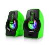 ลำโพง 2.0 nubwo(falsetto) ns120g green