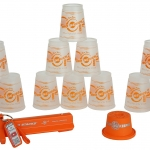 แก้ว Speed Stack Pro Series 2 Transparent-Orange