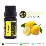 มะนาวฝรั่ง น้ำมันหอมระเหย 10 มล.Lemon 100%Pure Essential oil 10 ml.