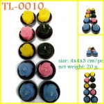 TL-0010 : เทียนกุหลาบเล็กในถ้วยทีไลท์ แพ็ค 10 pcs