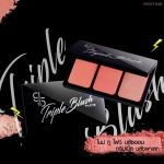 บลัชออน 3 สี Mistine 9 to 5 Triple Blush Palette