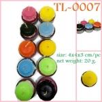 TL-0007 เทียน Tealight มาการอง สี กลิ่น ตามชอบ
