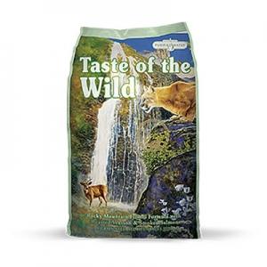 Taste of the Wild Rocky Mountain Feline® Formula with Roasted Venison & Smoked Salmon 6.8 KG.