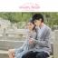 Pre-Order เสื้อคลุมคู่รัก ไหมพรมตัวยาว สีเทา ปักลายแพนด้า/กอไผ่ thumbnail 15