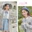 Pre-Order เสื้อคลุมคู่รัก ไหมพรมตัวยาว สีเทา ปักลายแพนด้า/กอไผ่ thumbnail 9