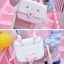 Pre-Order กระเป๋าสะพายไหล่หนังเทียมกวางกระต่าย สีขาว thumbnail 6