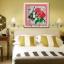 ดอกกุหลาบสีแดง ชุดปักครอสติช พิมพ์ลาย งานฝีมือ thumbnail 1