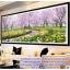 กวาง สวนดอกไม้ ภาพติดเพชร ครอสติชคริสตรัล โมเสก Diamond painting thumbnail 3