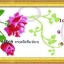 นาฬิกาดอกกุหลาบ ชุดปักครอสติช พิมพ์ลาย งานฝีมือ thumbnail 1