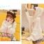 Pre-Order เสื้อคลุมฮู้ดไหมพรม ทรงปีกค้างคาว ปักลายน้องหมาCorgi thumbnail 17