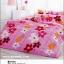 ผ้าปูที่นอนลายดอกไม้ TT457