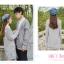Pre-Order เสื้อคลุมคู่รัก ไหมพรมตัวยาว สีเทา ปักลายแพนด้า/กอไผ่ thumbnail 11