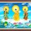พระพุทธเจ้า แม่กวนอิม ชุดปักครอสติช พิมพ์ลาย งานฝีมือ thumbnail 1