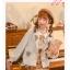 Pre-Order แจ๊คเก็ตคอปกผ้าWool ปักลายกระรอกและลูกโอ๊ค thumbnail 9